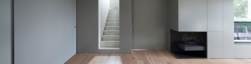 Renovation of a house. Interior image